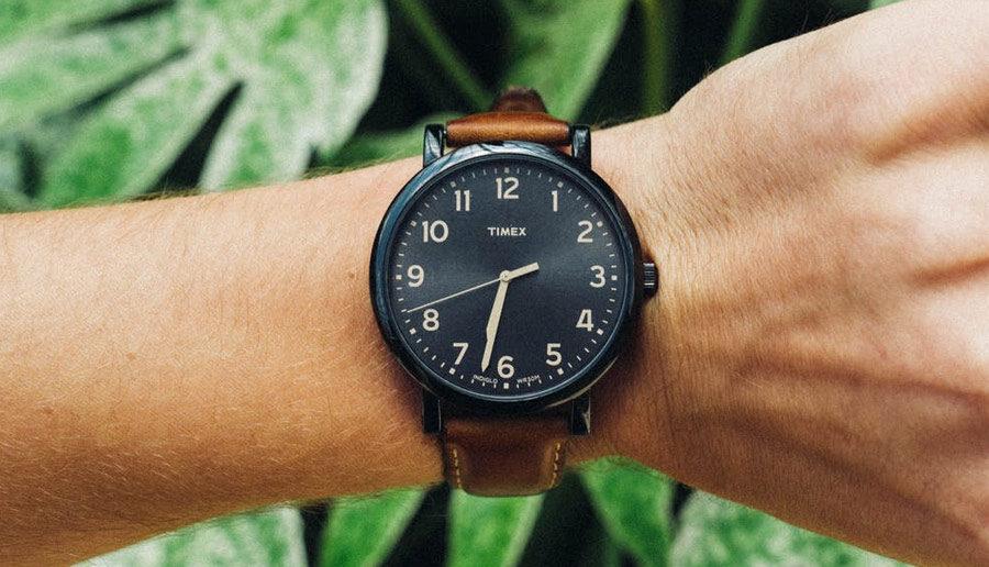 Kijken op een horloge